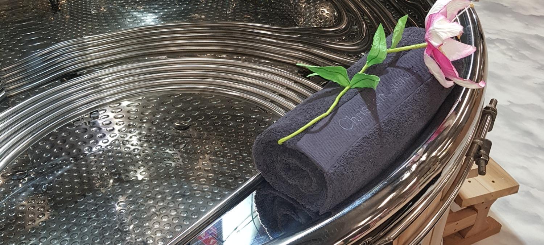 hot tub filter solution
