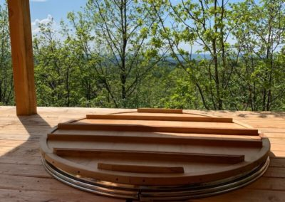 wood fired hot tub, japanese wood fired hot tub, wood fired jacuzzi, jacuzzi stainless steel, jacuzzi spa, acuzzi spa stainless steel